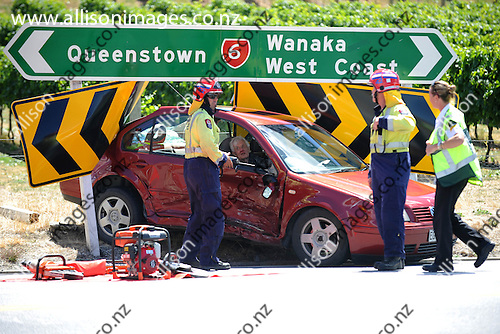 AI120507 Cromwell-Accident, Car Accident in Cromwell 21 January 2015
