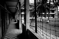 The Tuol Sleng museum, formerly the S-21 Khmer Rouge detention centre, where over 16,000 inmates were killed between 1975 and 1979.