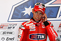 July 23, 2010 - Laguna Seca, USA - Ducati's Australian rider, Casey Stoner, is pictured at a press conference prior to the U.S. Grand Prix held on July 25, 2010. (Photo Andrew Northcott/Nippon News).