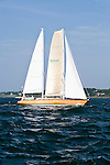 Sir Edmund, Class 15, sailing at the start of the Newport Bermuda Race 2010. The race started in Newport, Rhode Island on June 18, 2010.