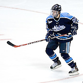 Teddy Purcell (University of Maine - St. John's, NL) - The Michigan State Spartans defeated the University of Maine Black Bears 4-2 in their 2007 Frozen Four semi-final on Thursday, April 5, 2007, at the Scottrade Center in St. Louis, Missouri.