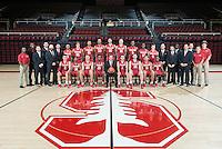 Stanford Basketball M Team Photo, October 19, 2016