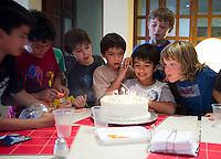 Felix at his friend Dario's Birthday party.  Edo Mex