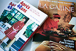 Two books penned by Francoise Morechand lie on the table at her home in Tokyo, Japan on Dec. 8 2010.