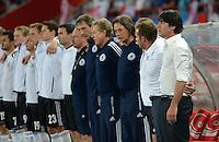 Fussball International  WM Qualifikation 2014   11.09.2012 Oesterreich - Deutschland Trainer Joachim Loew (Deutschland)