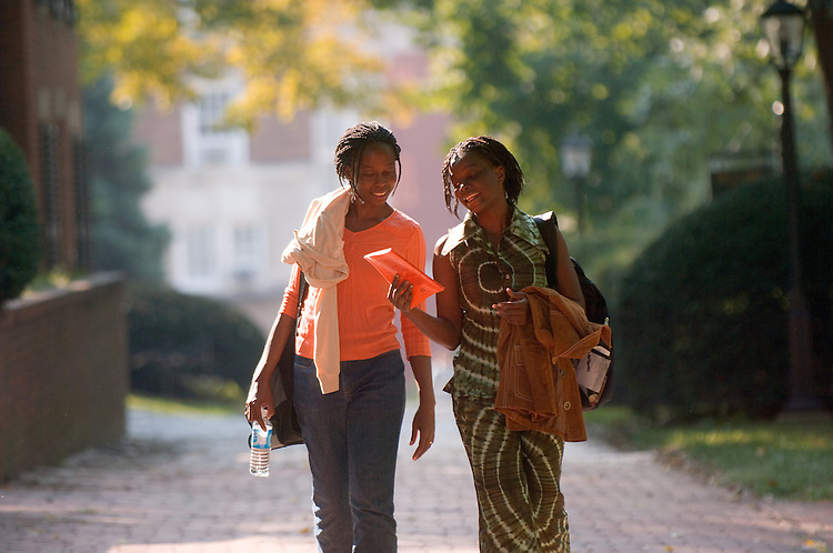 18396Campus Shots...Beauty Agbavor and Bridget Tetteh-Batsa