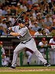 12 June 2006: Matt Holliday, outfielder for the Colorado Rockies, at bat during a game against the Washington Nationals at RFK Stadium, in Washington, DC. The Rockies defeated the Nationals 4-3 in the first game of the four game series...Mandatory Photo Credit: Ed Wolfstein Photo..