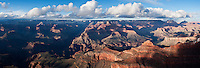 Grand Canyon panoramic from Mather point, Arizona, USA