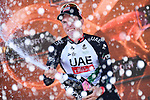 Jan Polanc (SLO) UAE Team Emirates wins Stage 4 of the 100th edition of the Giro d'Italia 2017, running 181km from Cefalu to Mount Etna, Sicily, Italy. 9th May 2017.<br /> Picture: LaPresse/Gian Mattia D'Alberto | Cyclefile<br /> <br /> <br /> All photos usage must carry mandatory copyright credit (&copy; Cyclefile | LaPresse/Gian Mattia D'Alberto)