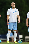 30 August 2013: North Carolina's Josh Rice. The University of North Carolina Tar Heels hosted the Monmouth University Hawks at Fetzer Field in Chapel Hill, NC in a 2013 NCAA Division I Men's Soccer match. UNC won the game 1-0 in two overtimes.