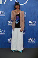 Ana Lily Amirpour attends a photocall for 'The Bad Batch' during the 73rd Venice Film Festival at Palazzo del Casino on September 6, 2016 in Venice, Italy.<br /> CAP/GOL<br /> &copy;GOL/Capital Pictures /MediaPunch ***NORTH AND SOUTH AMERICAS ONLY***