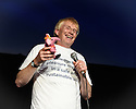 "Edinburgh, UK. 06.08.2016. Dr Phil Hammond performs in his eponymously-titled show, ""Dr Phil Hammond's NHS Revolution"", at The Space at Symposium Hall, as part of the Edinburgh Festival Fringe. Photograph © Jane Hobson.."