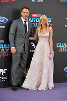 Chris Pratt &amp; Anna Faris at the world premiere for &quot;Guardians of the Galaxy Vol. 2&quot; at the Dolby Theatre, Hollywood. <br /> Los Angeles, USA 19 April  2017<br /> Picture: Paul Smith/Featureflash/SilverHub 0208 004 5359 sales@silverhubmedia.com