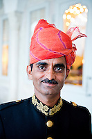 Rambagh Palace, luxury hotel. Jaipur, Rajasthan, Northern India, India