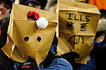 17 December 2005: Buffalo Bills fans express their sentiments as the Denver Broncos visit the Buffalo Bills at Ralph Wilson Stadium in Orchard Park, NY. The Broncos defeated the Bills 28-17. .Mandatory Photo Credit: Ed Wolfstein