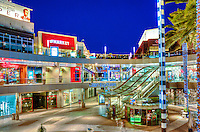 Santa Monica Place, Santa Monica CA, modern, open-air shopping Mall,  Bloomingdale's, Nordstrom, contemporary mix of stores and visionary restaurants