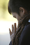 Prayer, Japan / Priere, Japon