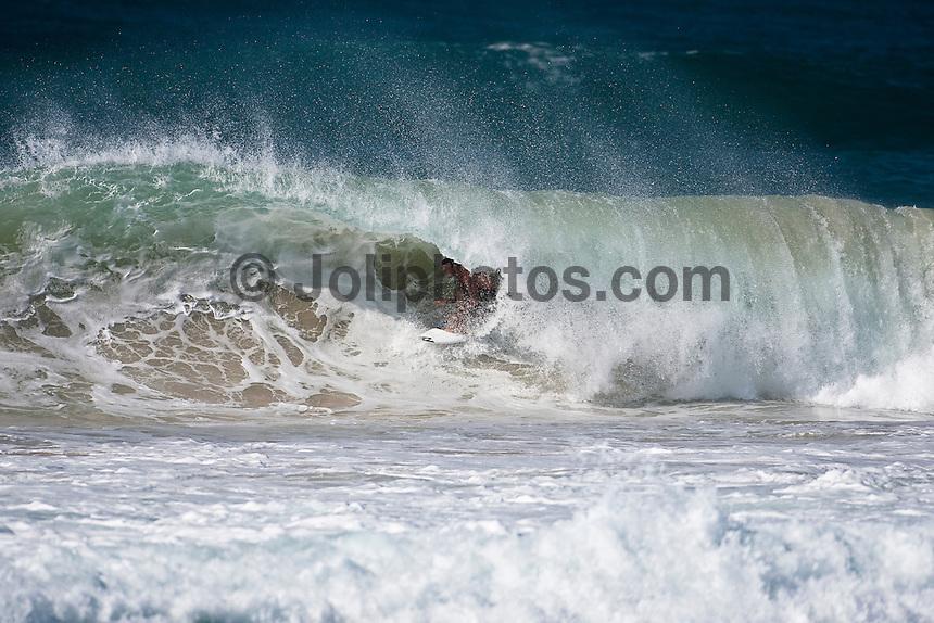 JOEL PARKINSON (AUS) surfing the Superbank, Coolangatta, Queensland, Australia during Cyclone jasper.  Photo: joliphotos.com