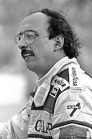 MIAMI, FL - FEBRUARY 27: Bobby Rahal in the pit lane during practice for the Budweiser Grand Prix of Miami on February 27, 1983, on the temporary street circuit in Bayfront Park in Miami, Florida.