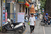 General and interesting street scenes in Ho Chi Minh City.<br />