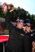 May 6, 2012; Commerce, GA, USA: NHRA  top sportsman driver Jeffrey Barker during the Southern Nationals at Atlanta Dragway. Mandatory Credit: Mark J. Rebilas-