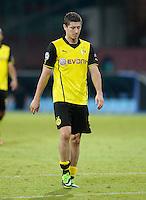 FUSSBALL   CHAMPIONS LEAGUE   SAISON 2013/2014   Vorrunde SSC Neapel - Borussia Dortmund      18.09.2013 Enttaeuschung Borussia Dortmund; Robert Lewandowski
