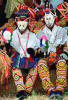 Tribal dancers at festival in Cameroon, West Africa RESERVED USE - NOT FOR DOWNLOAD -  FOR USE CONTACT TIM GRAHAM