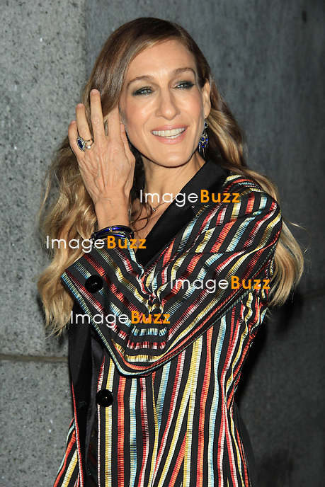 """Sarah Jessica Parker at the 29th Annual Fashion Group International """"Night of Stars""""..New York, October 25, 2012."""