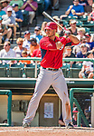 21 March 2015: Washington first baseman Clint Robinson in action during a Spring Training Split Squad game against the Atlanta Braves at Champion Stadium at the ESPN Wide World of Sports Complex in Kissimmee, Florida. The Braves defeated the Nationals 5-2 in Grapefruit League play. Mandatory Credit: Ed Wolfstein Photo *** RAW (NEF) Image File Available ***