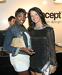 Recording Artist Estelle and Emma Snowdon-Jones attend Save the Eggs benefit Cocktails 2010 hosted by Tia Walker, Peggie Walker, BoConcept Owner Shaokao Cheng & Emma Snowdon-Jones at BoConcept New York, 5/17/10