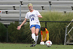 20 September 2009: Duke's Erin Koballa. The Duke University Blue Devils played the Louisiana State University Tigers to a 2-2 tie after overtime at Koskinen Stadium in Durham, North Carolina in an NCAA Division I Women's college soccer game.