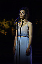 London, UK. 19.07.2016. Regent's Park Open Air Theatre presents JESUS CHRIST SUPERSTAR, by Tim Rice (lyrics) and Andrew Lloyd Webber (music). Directed by artistic director Timothy Sheader, with design by Tom Scutt and lighting design by Lee Curran. Picture shows: Anoushka Lucas (Mary). Photograph © Jane Hobson.