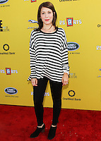 SANTA MONICA, CA, USA - NOVEMBER 16: Marla Sokoloff arrives at the P.S. ARTS Express Yourself 2014 held at The Barker Hanger on November 16, 2014 in Santa Monica, California, United States. (Photo by Celebrity Monitor)