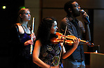 12/02/2011 - Medford/Somerville, MA - The Tufts New Music Ensemble performs in Distler Performance Hall on Friday, Dec. 2, 2011. (Matthew Modoono for Tufts University)
