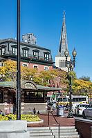 Harvard Square, Cambridge, Massachusetts, USA