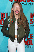 NEW YORK, NY - OCTOBER 01: Holly Taylor attends the New York Screening of Middle School: The Worst Years of My Life at Regal E-Walk on October 1, 2016 in New York City. Photo Credit: John Palmer/MediaPunch