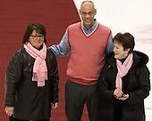 Kathy Wynters, Peter Roby, Pauline Alighieri - The Northeastern University Huskies defeated the visiting Providence College Friars 8-7 on Sunday, January 20, 2013, at Matthews Arena in Boston, Massachusetts.