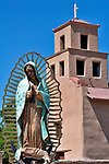 Shrine of Our Lady Guadalupe in Santa Fe, New Mexico