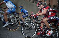 Milan-San Remo 2012.raceday.Taylor Phinney up Le Manie