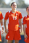 26 October 2008: Clemson's Julie Bolt. The Duke University Blue Devils defeated the Clemson University Tigers 6-0 at Koskinen Stadium in Durham, North Carolina in an NCAA Division I Women's college soccer game.