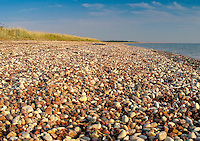 Pebble Stones on Harilaid Beach in Vilsandi National Park, Saaremaa, Estonia