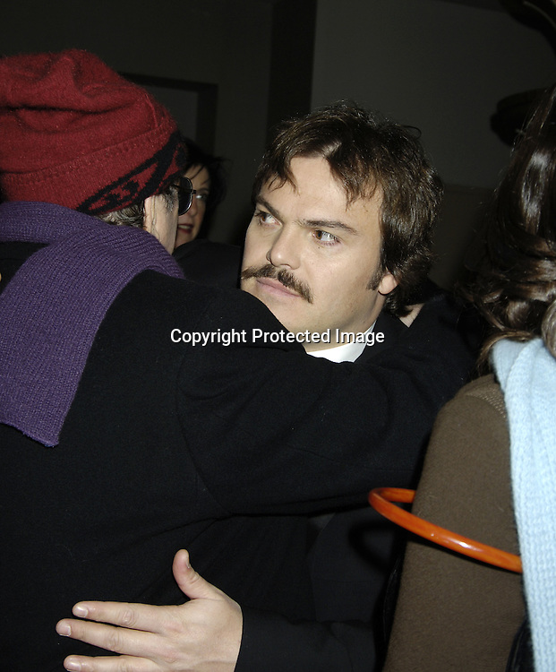 "Jack Black ..at The World Premier of Universal Pictures "" King Kong"" ..on December 5, 2005 at The Loews E-Walk. ..Photo by Robin Platzer, Twin Images"