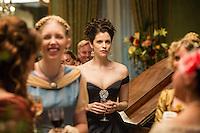 "Jessica du Gouw as Elizabeth Hawkes in WGN America's ""Underground."""