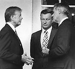 President Carter, Zbigniew Brzezinski, Cyrus Vance,