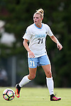 16 September 2016: North Carolina's Hannah Gardner. The University of North Carolina Tar Heels hosted the North Carolina State University Wolfpack in a 2016 NCAA Division I Women's Soccer match. NC State won the game 1-0.