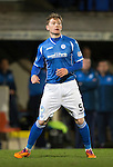 St Johnstone v Aberdeen&hellip;22.04.16  McDiarmid Park, Perth<br />Michael Doyle<br />Picture by Graeme Hart.<br />Copyright Perthshire Picture Agency<br />Tel: 01738 623350  Mobile: 07990 594431