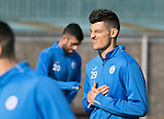St Johnstone Training&hellip;.30.09.16<br />Graham Cummins pictured during training this morning<br />Picture by Graeme Hart.<br />Copyright Perthshire Picture Agency<br />Tel: 01738 623350  Mobile: 07990 594431