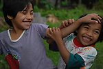 Children playing in Ilocos Norte, Philippines..**For more information contact Kevin German at kevin@kevingerman.com