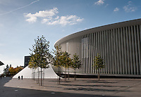 Place de l'Europe: The  Luxembourg Philharmonie on the Kirchberg plateau
