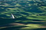 Grainery in the Palouse Valley